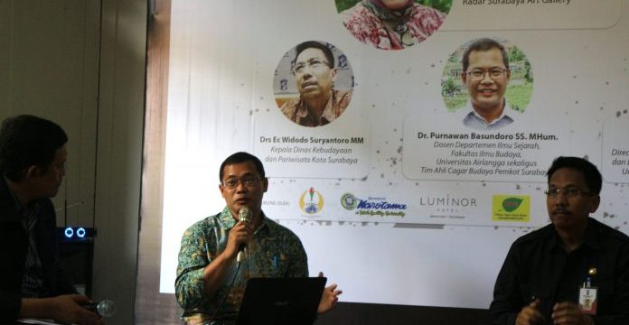 Pakar Sejarah Kota UNAIR Turut Gagas Pengembangan Kota Lama Surabaya